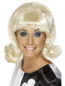 Women's 60s Flick-Up Wig Blonde