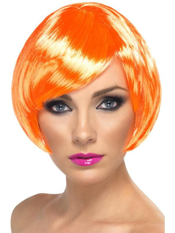 Women's Babe Wig Fire coral