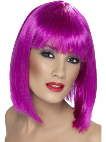 Women's Glam Wig Neon purpl
