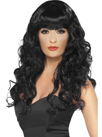 Women's Siren Wig Black
