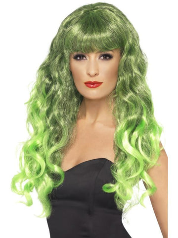Women's Siren Wig Green