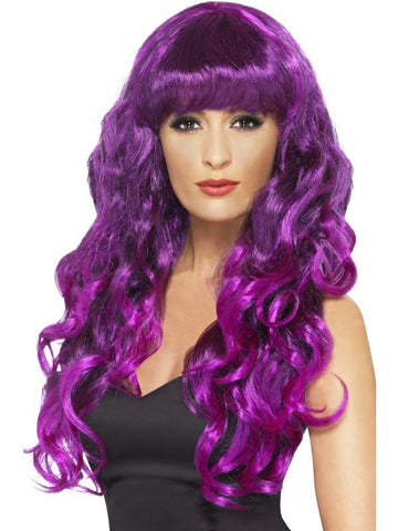 Women's Siren Wig Purple