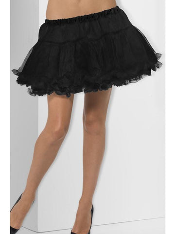 Women's Petticoat Black