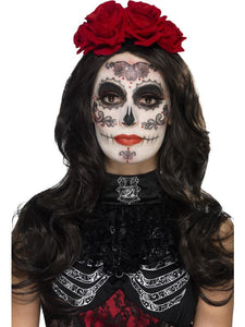 Day of the Dead Glamour Make-Up Kit, with