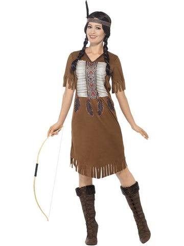 Native American Inspired Warrior Princess Costume