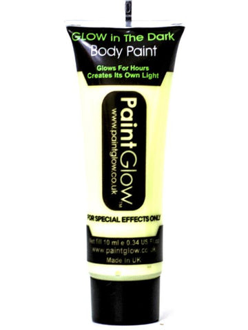 Adult Unisex Glow in the Dark Body Paint Clear
