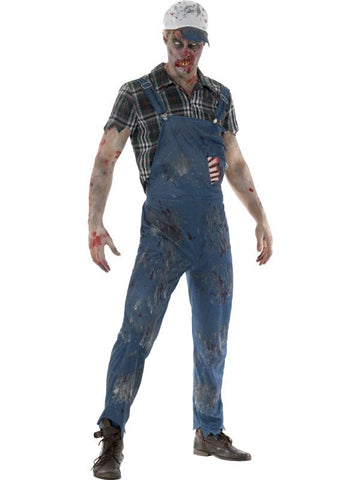 Zombie Hillbilly Costume, Male