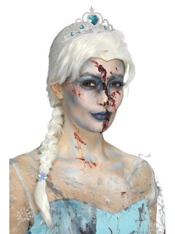 Women's Zombie Froze To Death Wig White