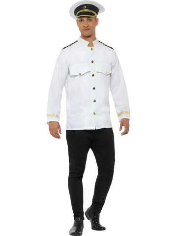 Men's Captain Jacket White