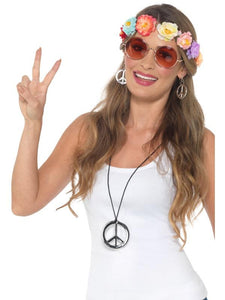Hippie Festival Kit, Adult 60s & 70s