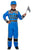 Racing Car Driver Fancy Dress Costume, Boy's