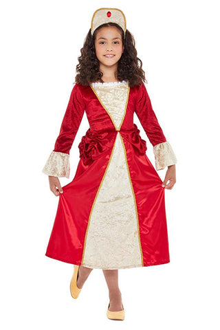 Tudor Princess Fancy Dress Costume, Girl's