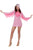 Flamingo Fancy Dress Costume, Ladies