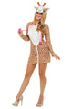 Women's Giraffe Fancy Dress Costume