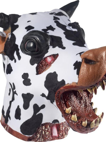 Deluxe Butchered Daisy The Cow Head Prop