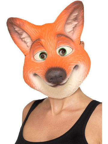 Adult Unisex Fox Mask Orange