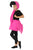Kids Flamingo Fancy Dress Costume