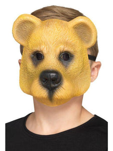 Child Unisex Bear Mask, Child Light brow