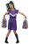 Dark Cheerleader Costume - Girls Zombie Halloween Fancy Dress