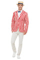 20s Barber Shop Fancy Dress Costume,  Mens