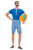 20s Bathing Suit Fancy Dress Costume,  Mens
