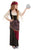 Girl's Deluxe Fortune Teller Fancy Dress Costume