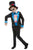 Neon Day of The Dead Boy Fancy Dress Costume -Halloween Fancy Dress