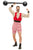 Men's Deluxe The greatest showman Strongman Fancy Dress Costume