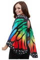 Ladies Monarch Butterfly Fabric Wings