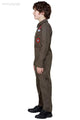 Top Gun Kids Costume - Uniform Fancy Dress
