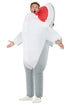 Inflatable Shark Attack Fancy Dress Costume,  Adult