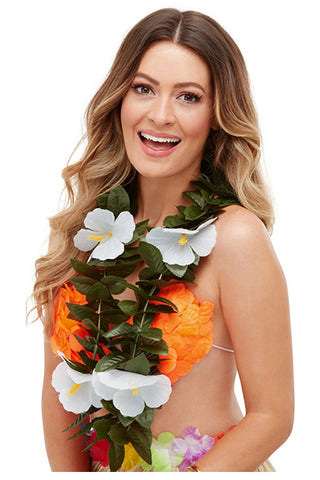 Hawaiian Luau Tiki Lei,  Adult