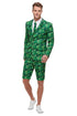 Men's Tropical Palm Tree Suit