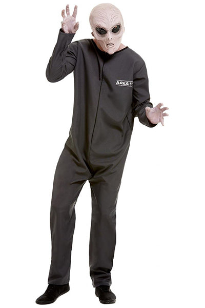 Area 51 Alien Researcher Fancy Dress Costume, Male