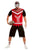 Zombie Footballer Fancy Dress Costume