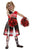 Zombie Cheerleader Fancy Dress Costume