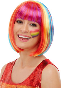 Rainbow Bob Wig, Ladies