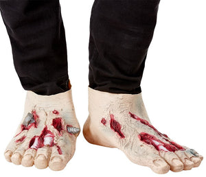 Zombie Latex Shoe Covers