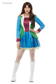 Ladies 60s Party Fancy Dress Costume