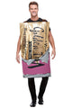 Roald Dahl Winning Wonka Bar Fancy Dress Costume , Adult fancy dress