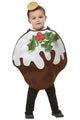 Christmas Pudding Glitter Costume