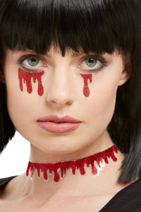 Blood Dripping Stickers - Halloween Fake Blood