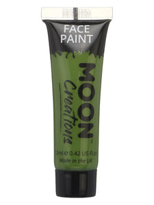 Moon Creations Face & Body Paint, Green