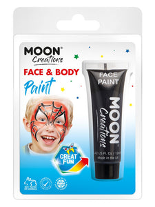 Moon Creations Face & Body Paint, Black