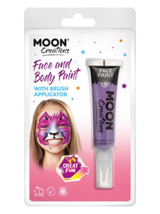 Moon Creations Face & Body Paints, Purple
