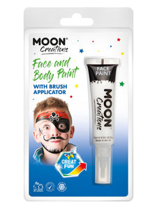 Moon Creations Face & Body Paints, White