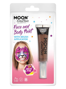 Moon Creations Face & Body Paints, Brown