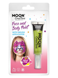 Moon Creations Face & Body Paints, Lime Green