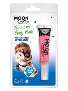 Moon Creations Face & Body Paints, Hot Pink