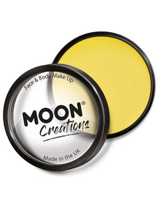 Moon Creations Pro Face Paint Cake Pot, Yellow